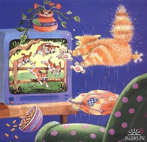 Забавные коты Gary Patterson