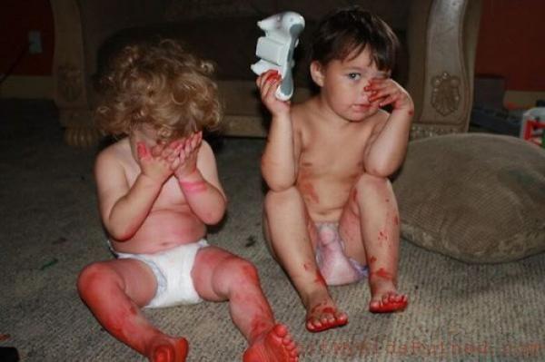 Ах, уж эти детки! :)
